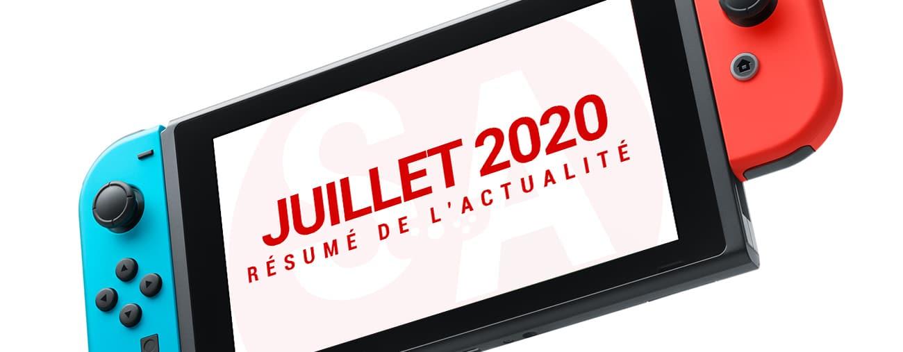 actualités Switch mois juillet 2020