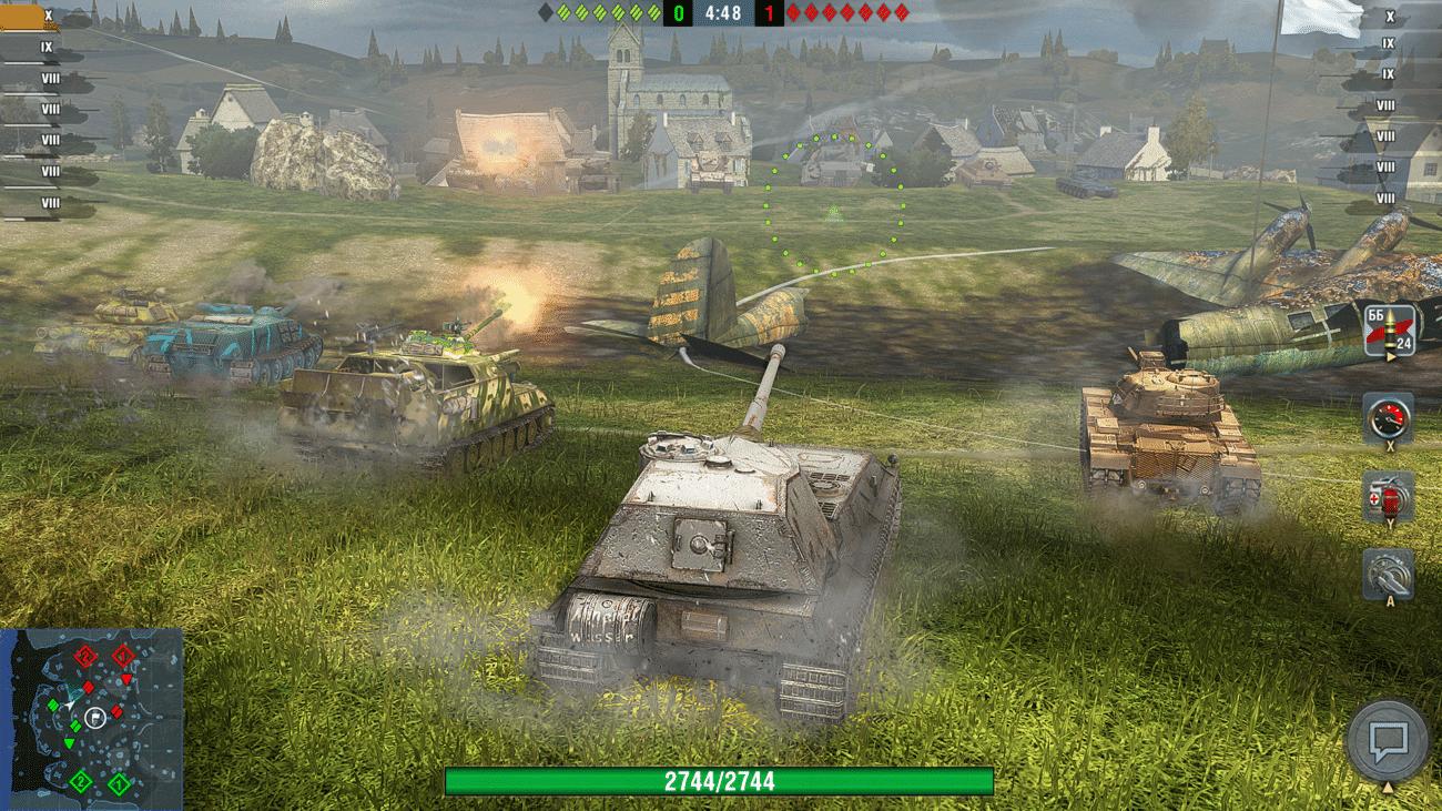World of Tanks Blitz Nintendo Switch