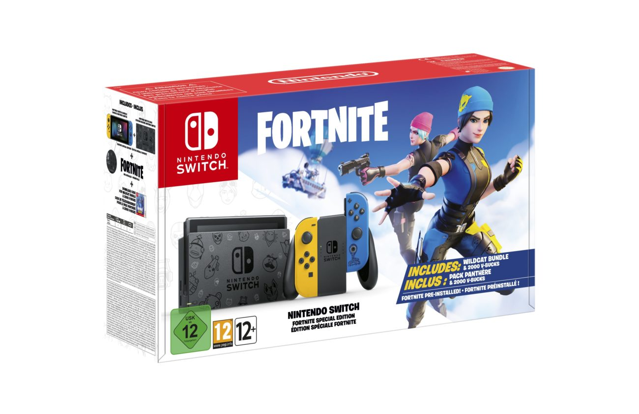 Nintendo Switch édition Fortnite