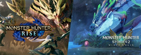 Monster Hunter Rise et Stories 2 Nintendo Switch