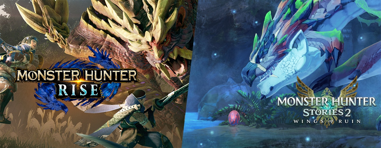 Monster Hunter Rise et Stories 2 annoncés sur Nintendo Switch
