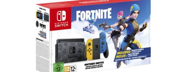 Nintendo Switch édition Fortnite