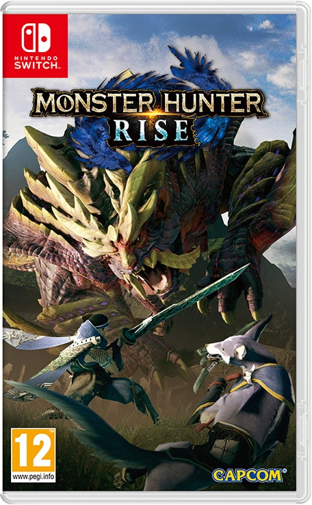 Jaquette Monster Hunter Rise Nintendo Switch