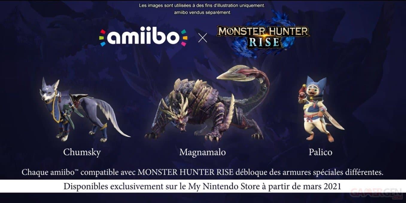 Amiibo Monster Hunter Rise