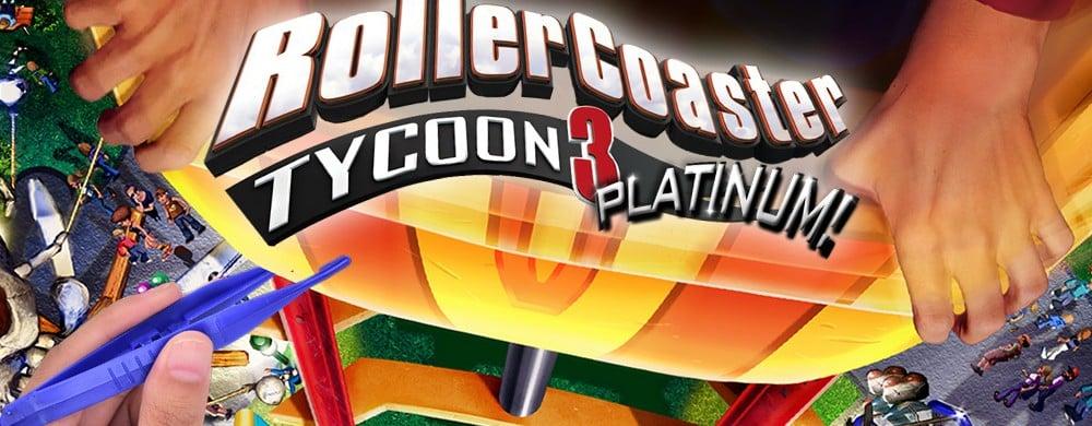rollercoaster tycoon 3 switch rumeur