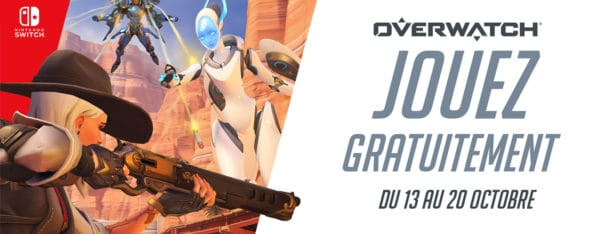 Overwatch jeu gratuit Nintendo Switch