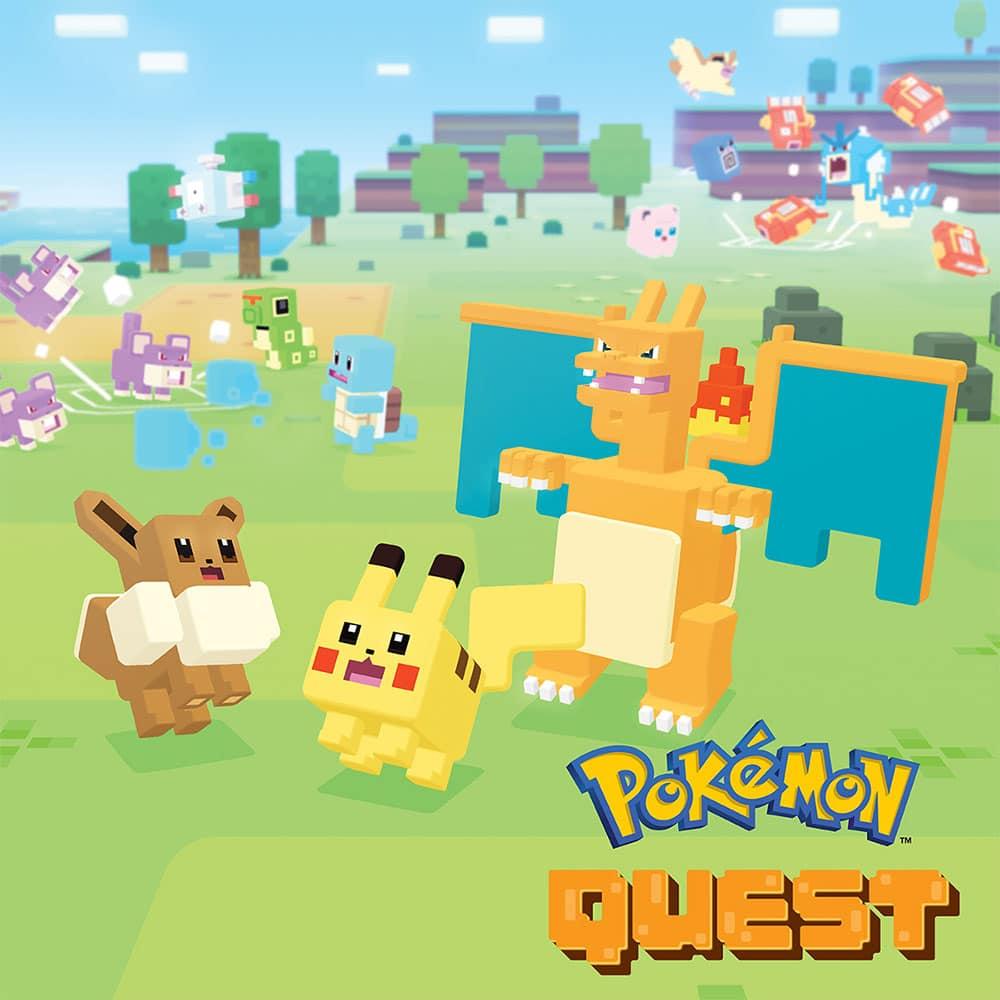 Pokémon Quest jeu gratuit Nintendo Switch eShop
