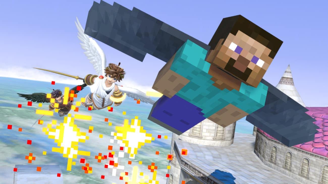 Minecraft Smash Bros. Ultimate Nintendo Switch