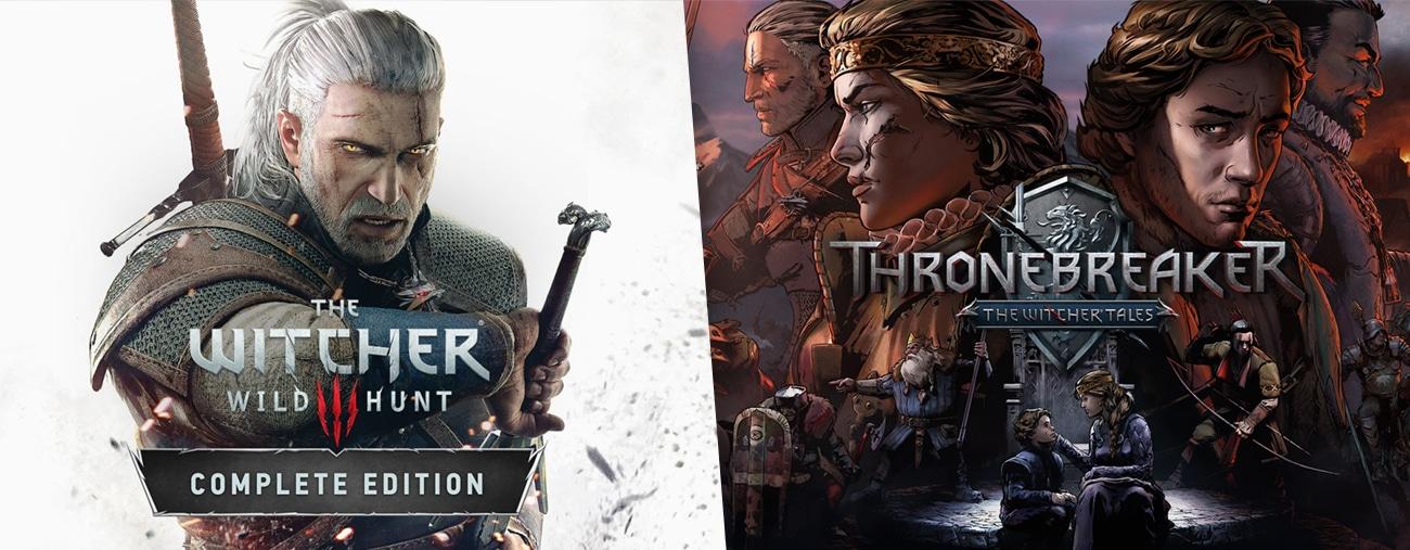 The Witcher 3 et Thronebreaker se mettent à jour sur Switch