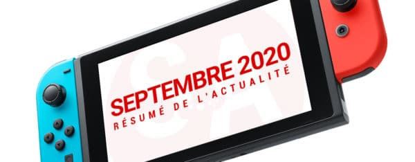 actualite nintendo switch septembre 2020