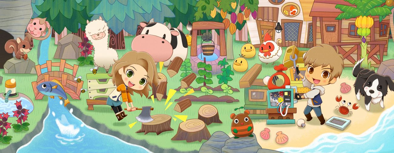 story of seasons: pioneers of olive town switch date