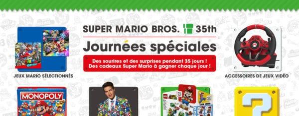 Nintendo va lancer des journées spéciales Super Mario pour Noël