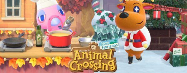 animal crossing new horizons mise à jour noel
