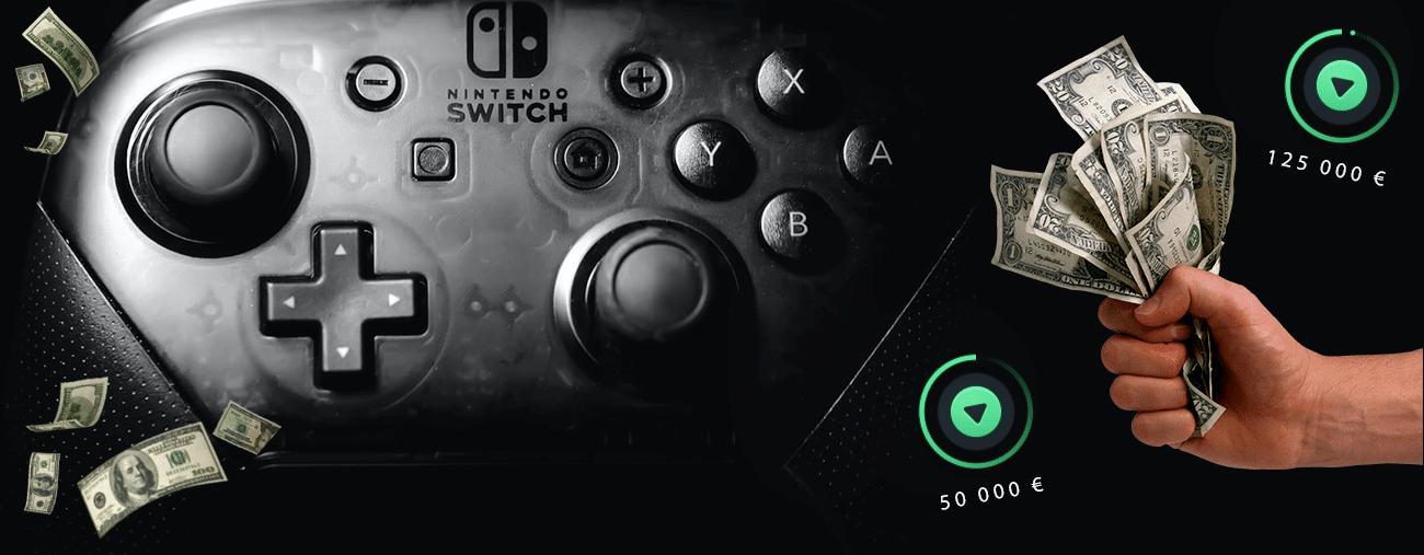 financement participatif Nintendo Switch