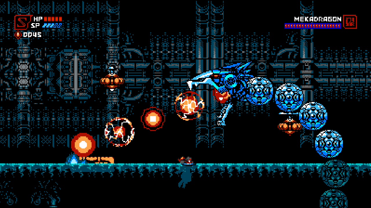 Cyber Shadow gameplay