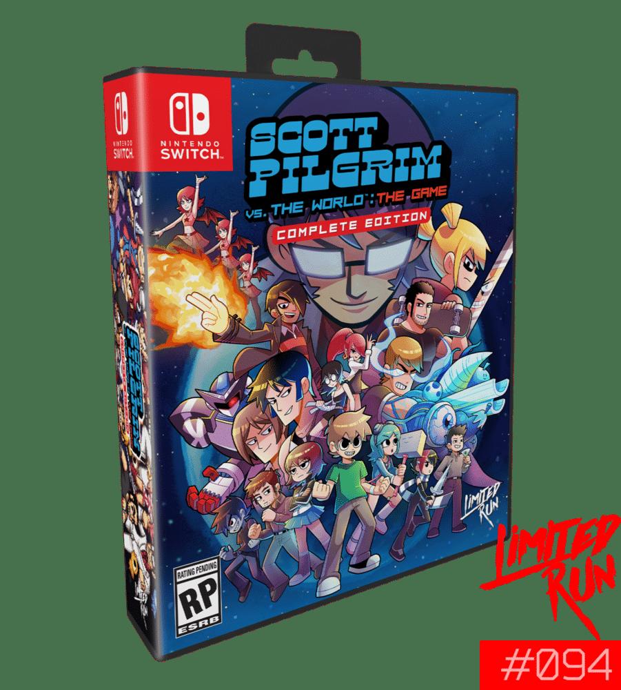 Switch Limited Run #94: Scott Pilgrim Vs. The World: The Game Classic Edition