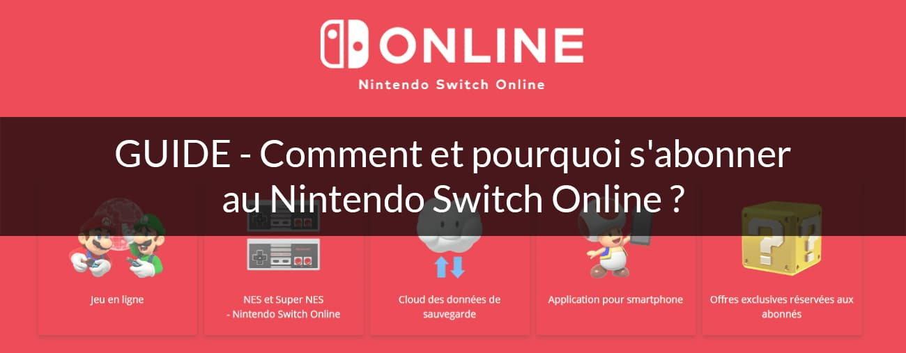 guide Nintendo Switch Online