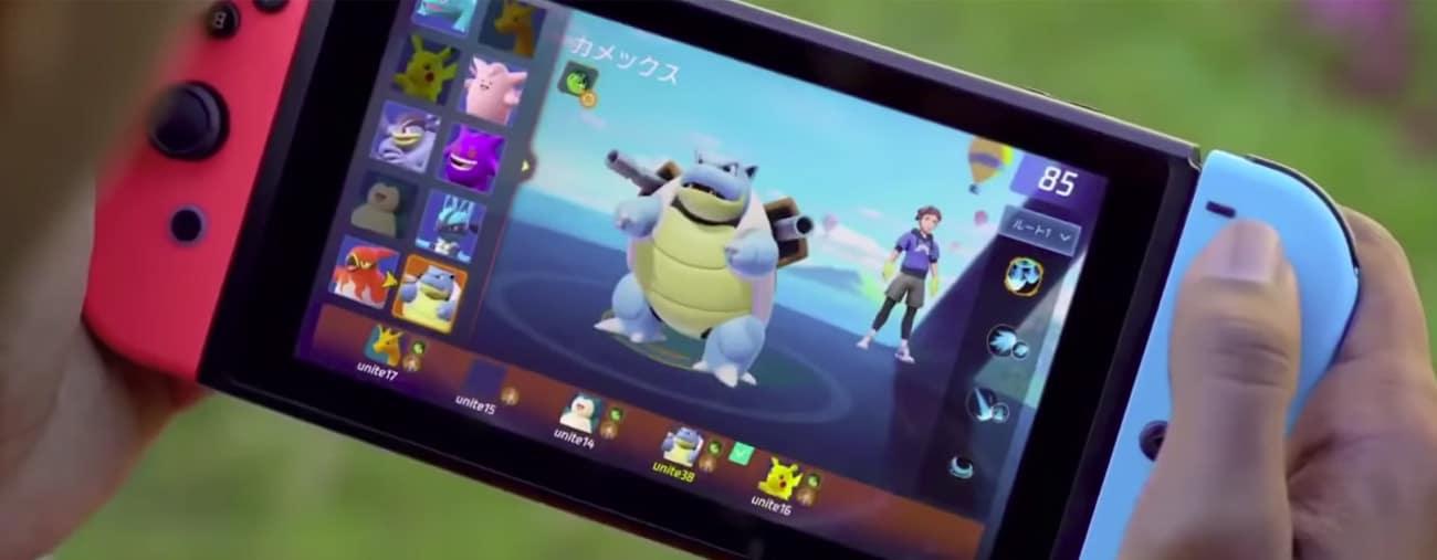 pokémon unite gameplay leak