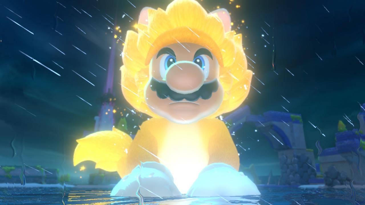 Mario chat géant