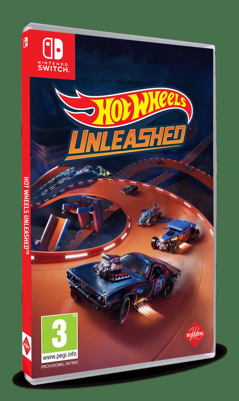 Hot Wheels Unleashed Nintendo Switch boxart