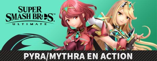 Smash Bros. Ultimate - Pyra et Mythra présentées le 4 mars à 15h