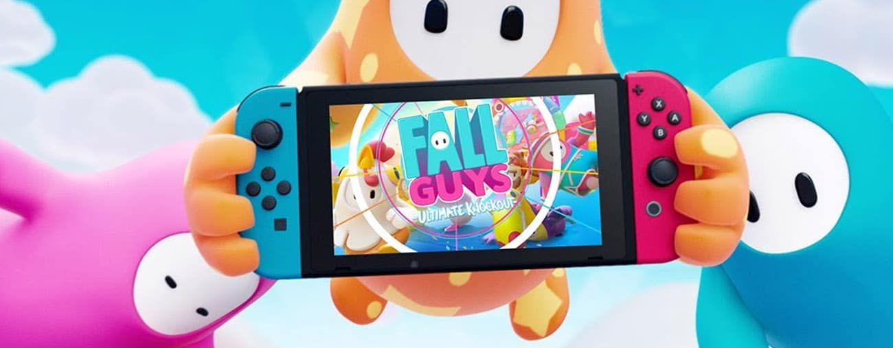 fall guys ultimate knockout nintendo switch sortie
