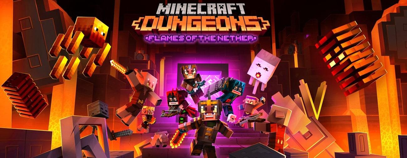 minecraft dungeons dlc mise a jour fevrier 2021