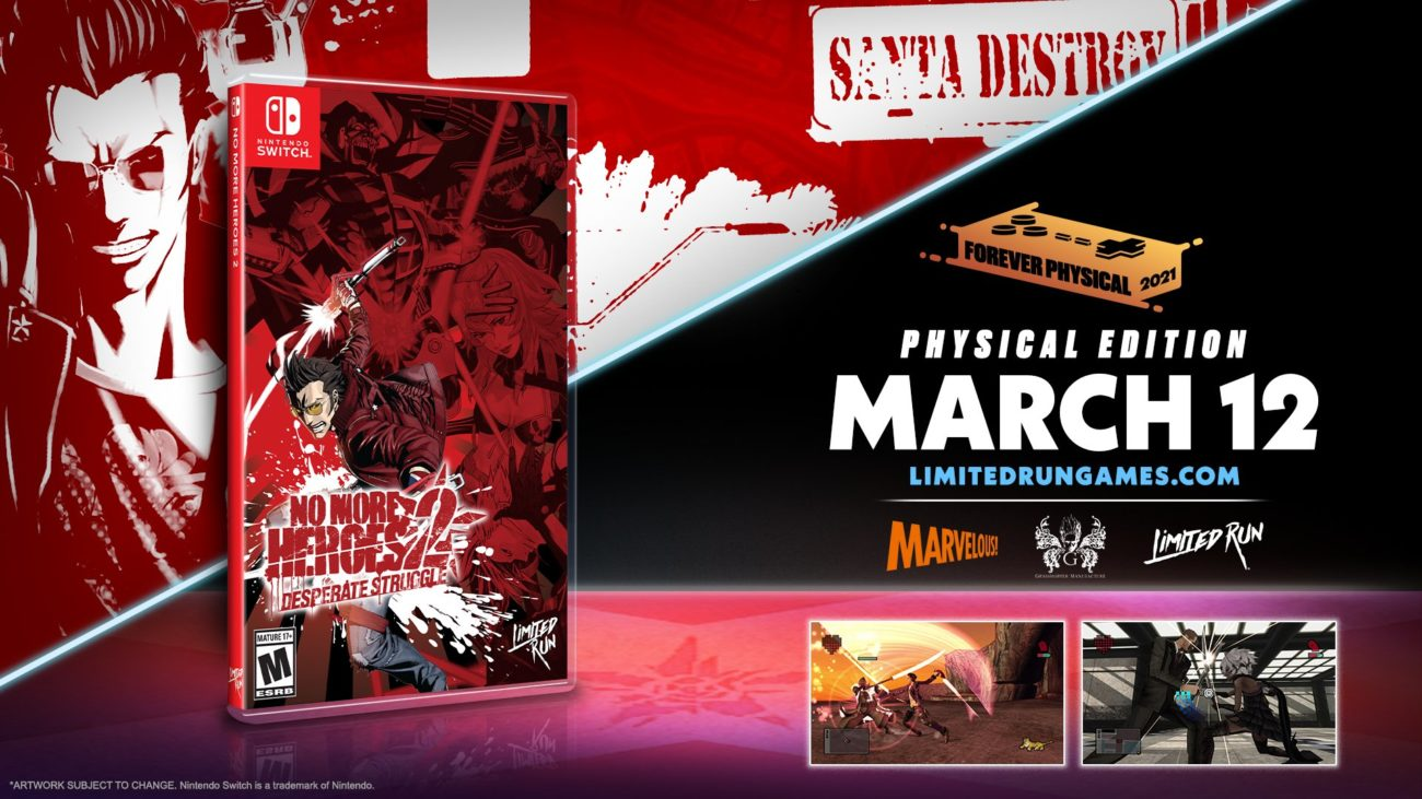 no more heroes 1 et 2 physique collector switch 1