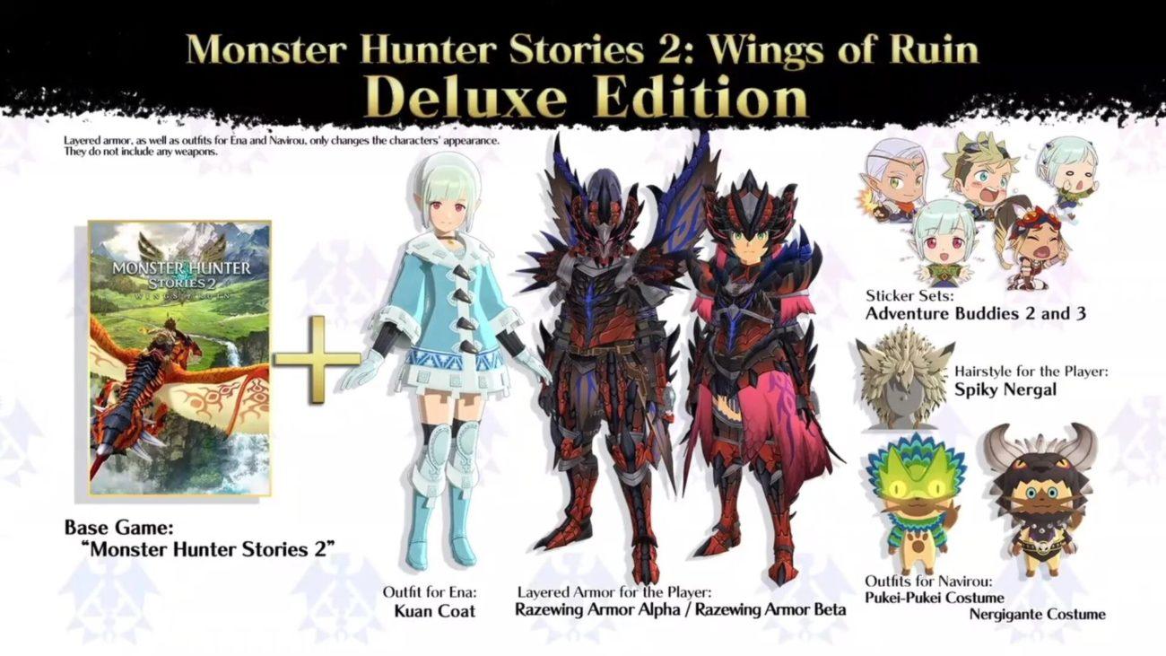 monster hunter stories 2 deluxe