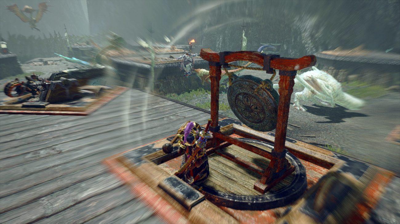 monster hunter rise gong