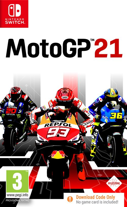 Moto GP 21 switch