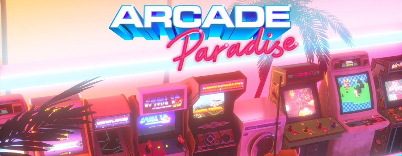 arcade paradise switch annonce