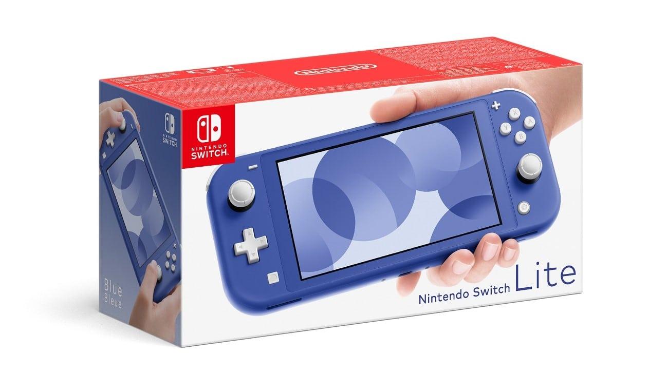 switch lite bleue
