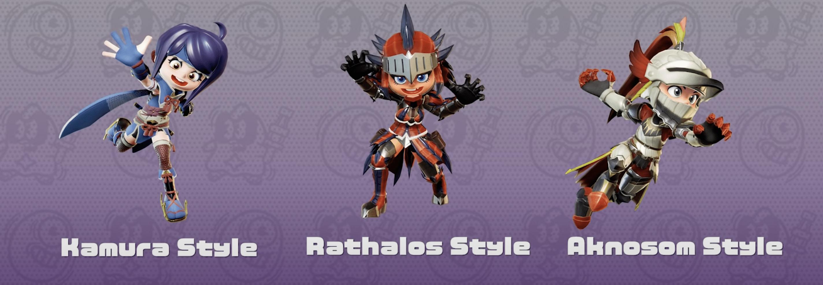 Ninjala Monster Hunter Rise Costume