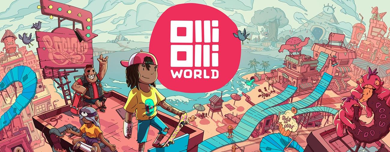 OlliOlli World Nintendo Switch