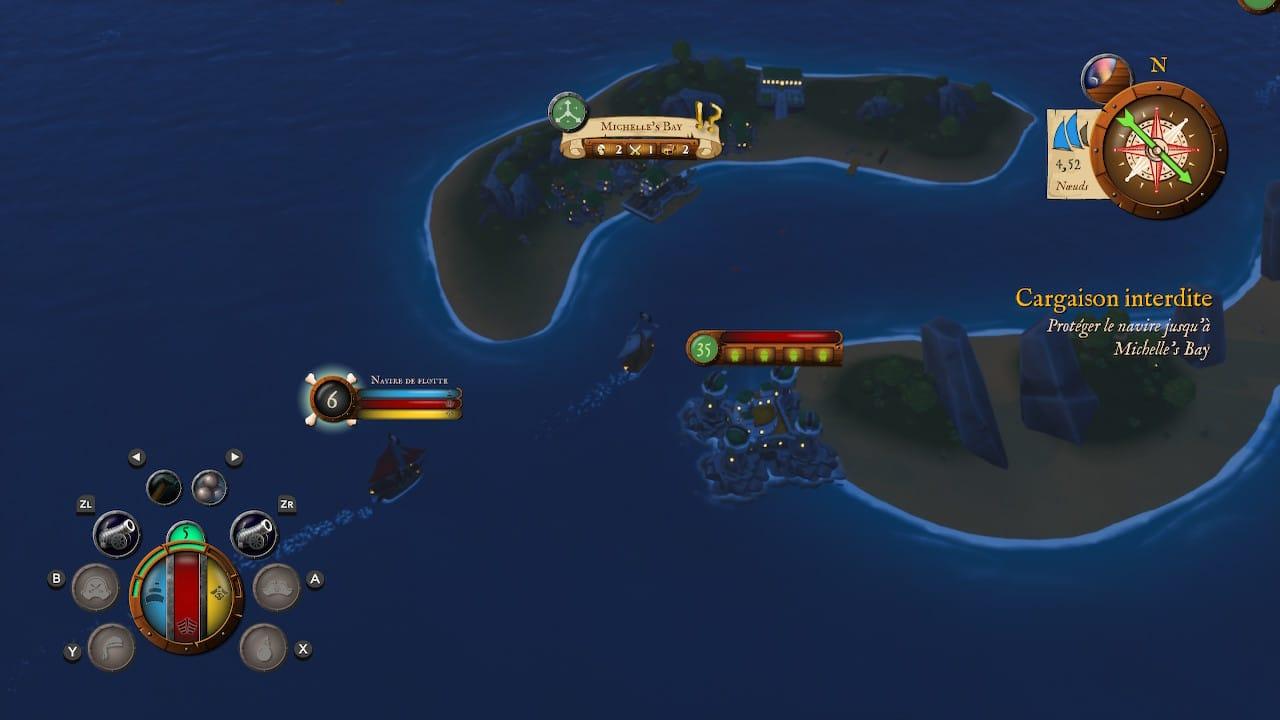 King of Seas Test Switch