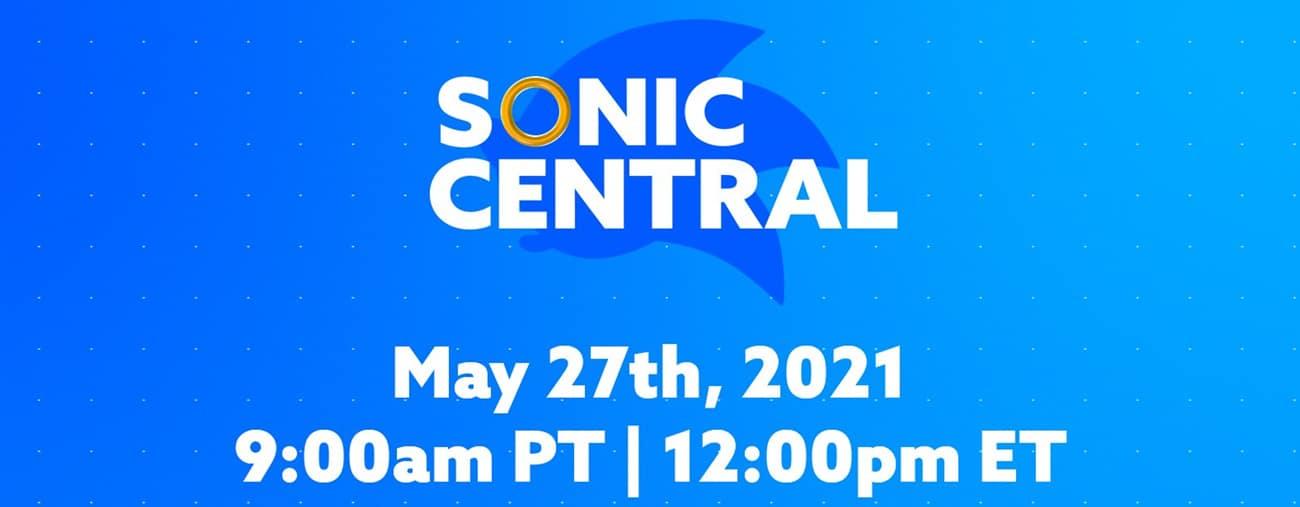 Un événement Sonic Central annoncé pour le 27 mai