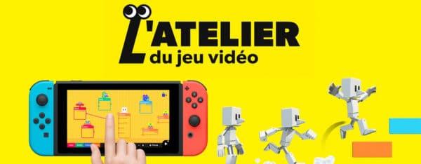 l'atelier du jeu vidéo nintendo switch annonce