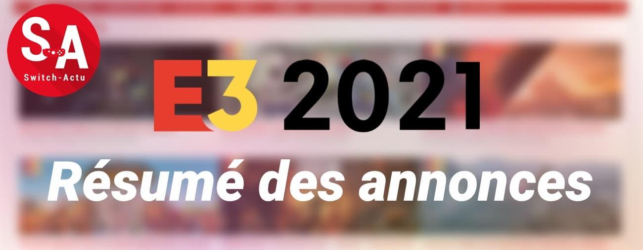 E3 2021 Résumé Nintendo