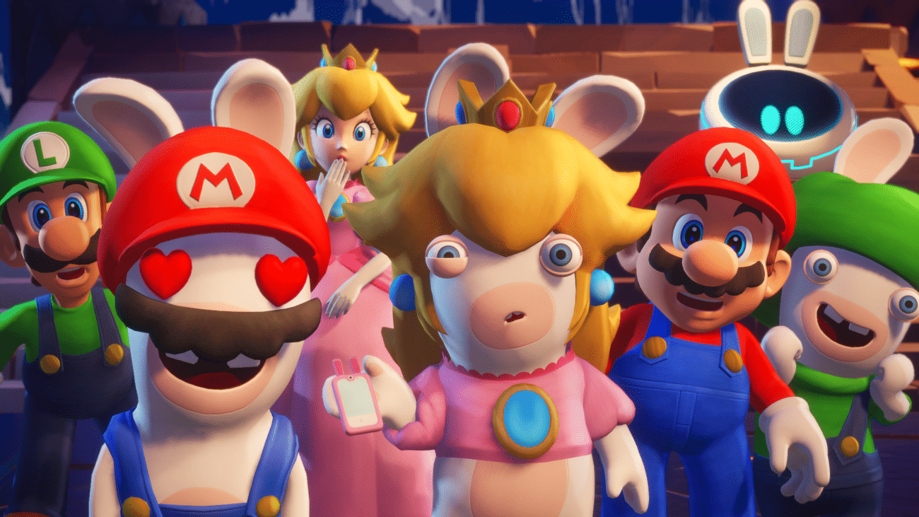 Mario + The Lapins Crétins Sparks of Hope Nintendo Switch