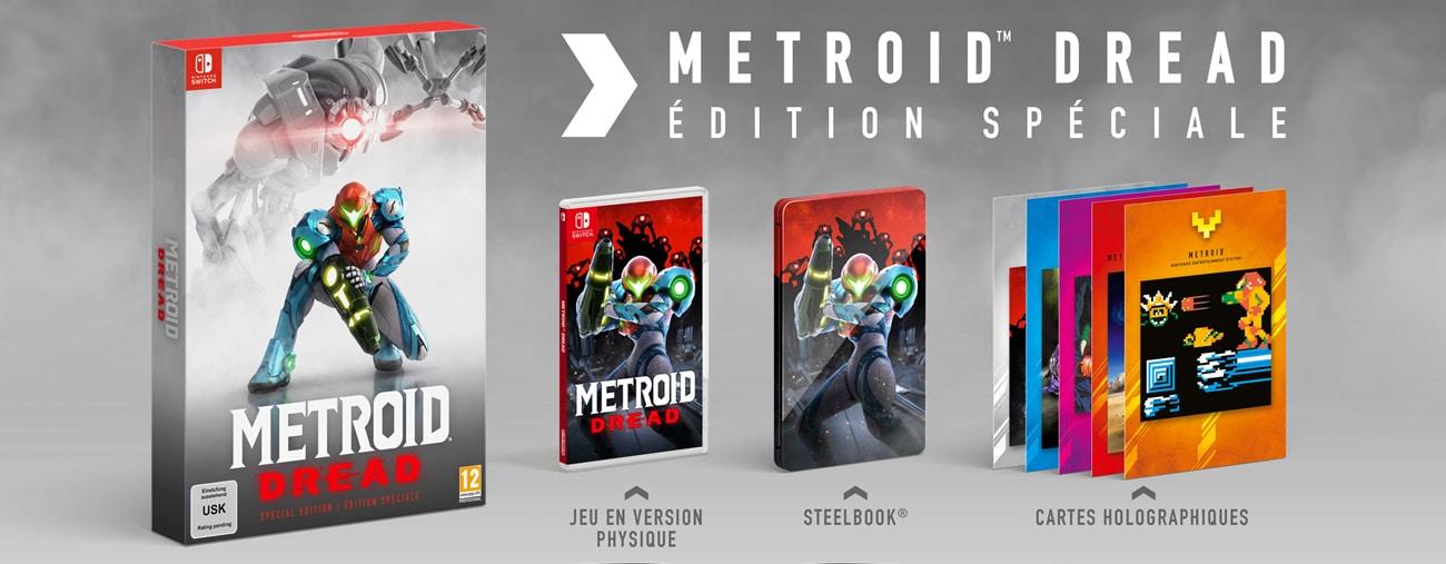 Metroid Dread : une édition spéciale ainsi que des amiibo au programme !