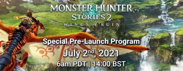 Monster Hunter Stories 2 - Un événement en live annoncé pour le 2 juillet