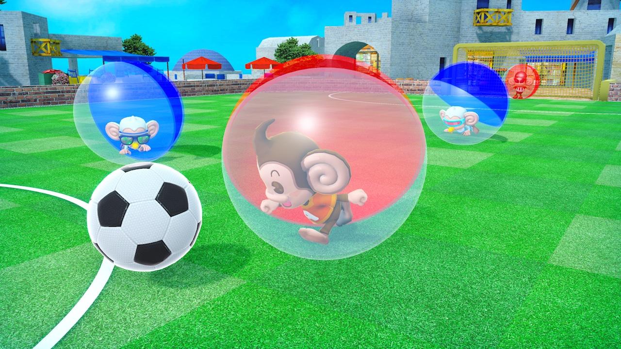 Super Monkey Ball Banana Mania roulera sur la Switch