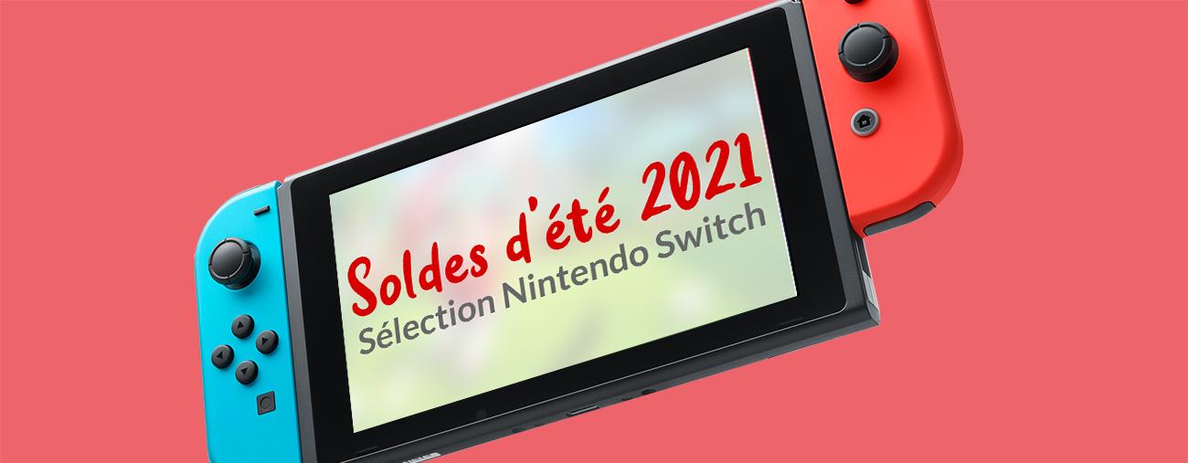 SOLDES ETE 2021 NINTENDO SWITCH