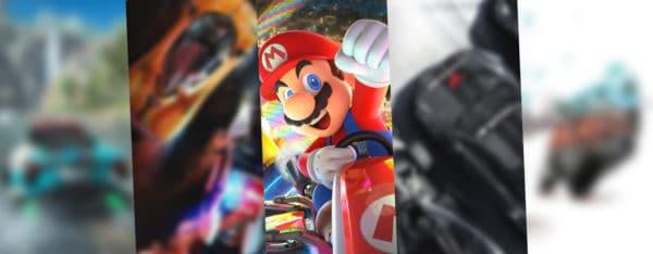 Top 5 des jeux de course sur Nintendo Switch