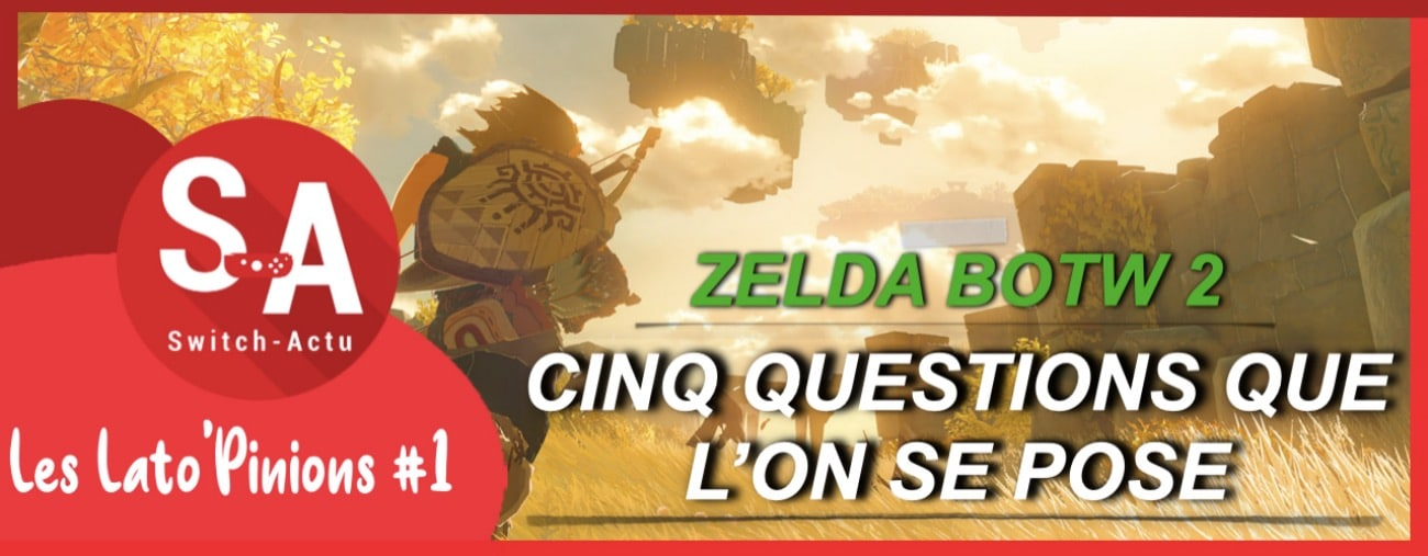 Zelda: BOTW 2 analyse du trailer