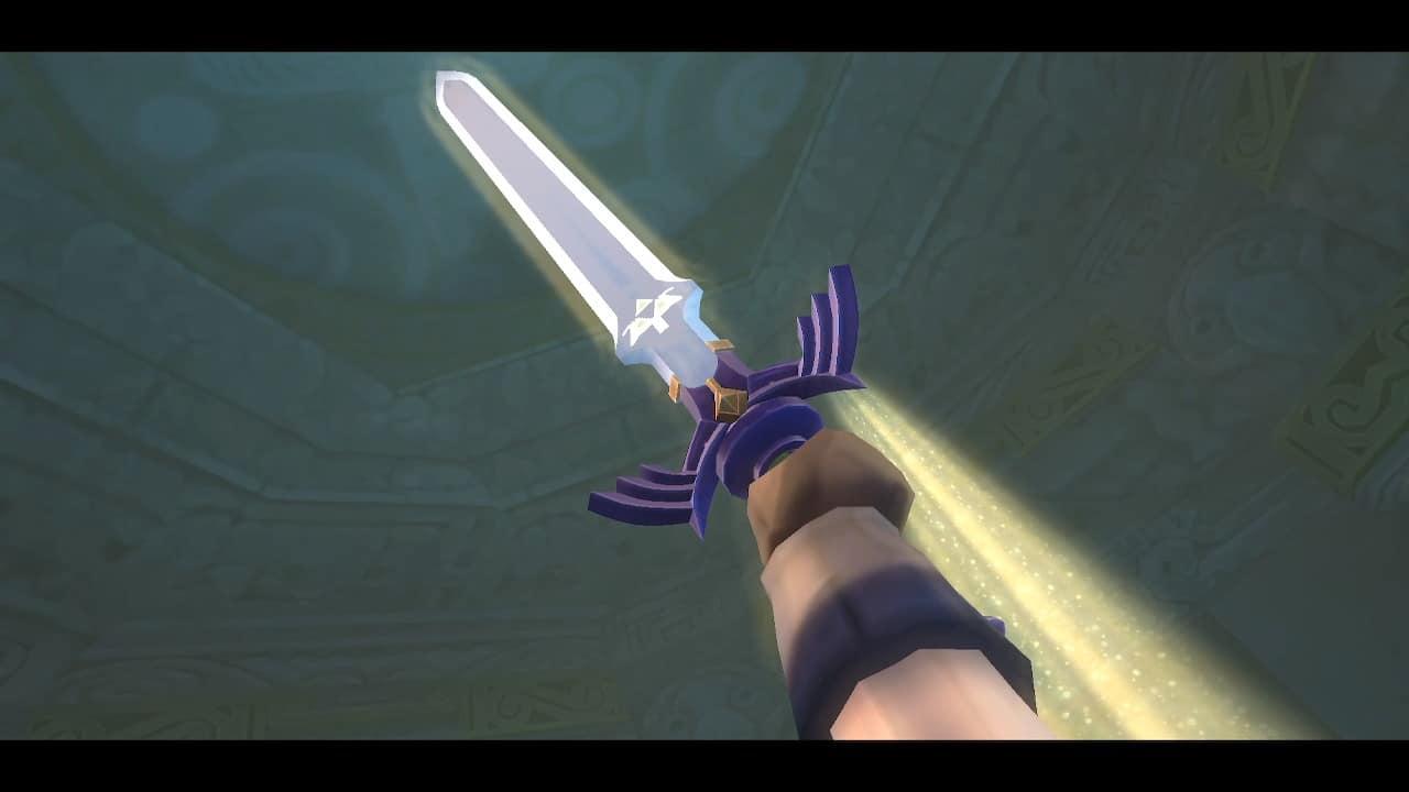 skyward sword hd master sword
