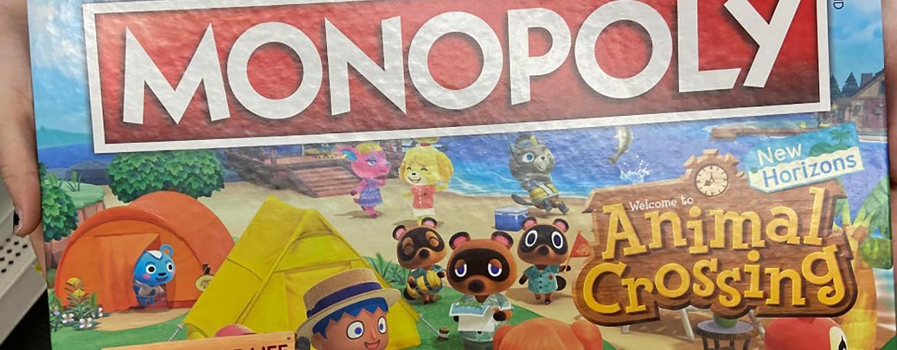 Animal Crossing - Un Monopoly aux couleurs du jeu apparaît
