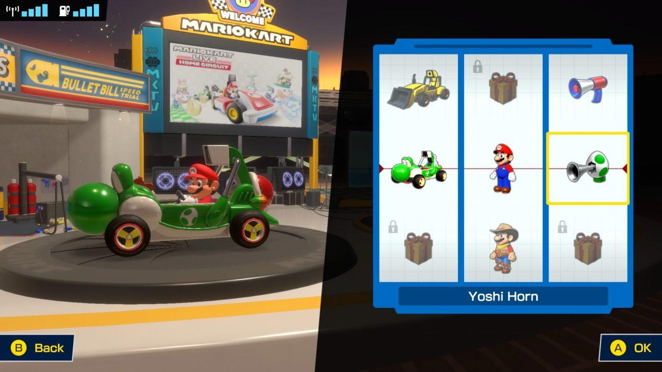 Mario Kart Live Home Circuit Switch