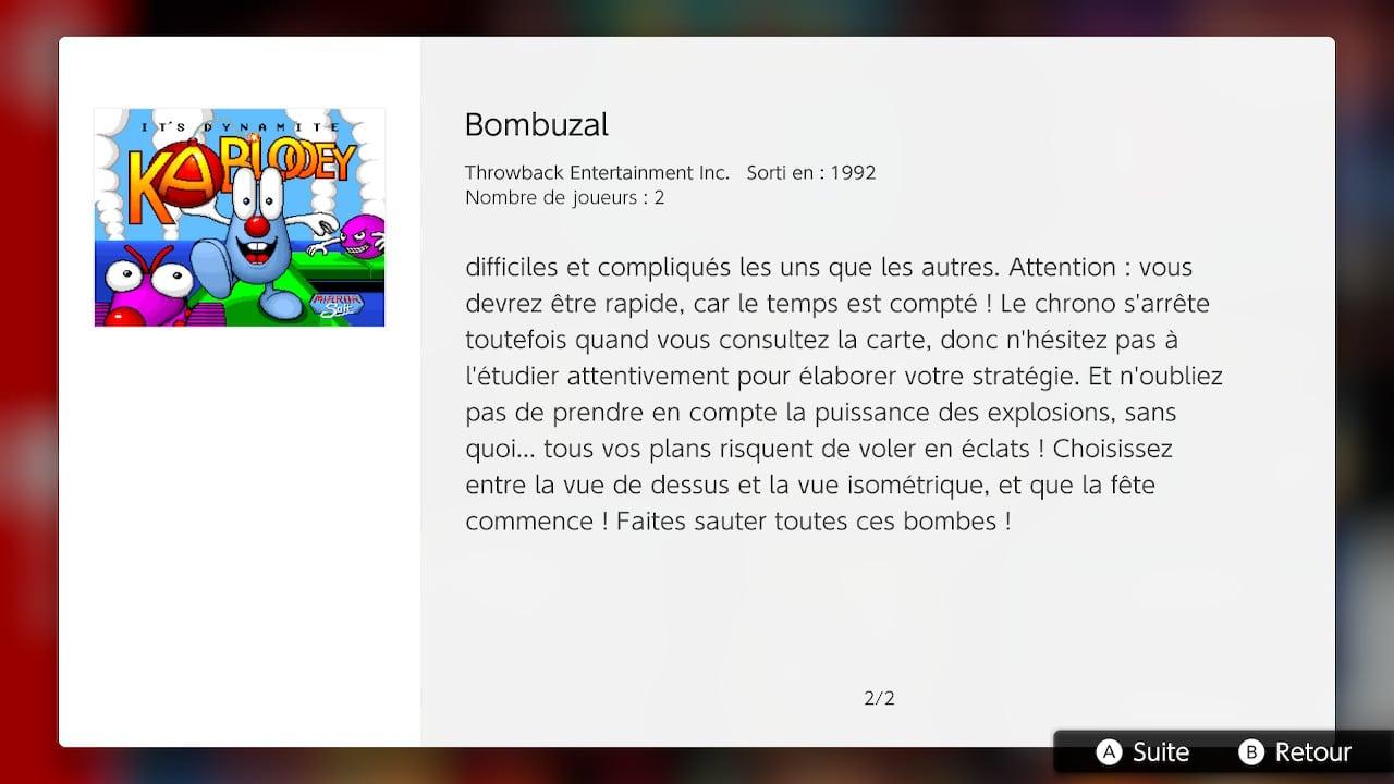 bombuzal nintendo switch online